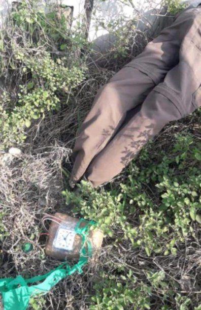 La Matanza: el paquete que contenía el muñeco
