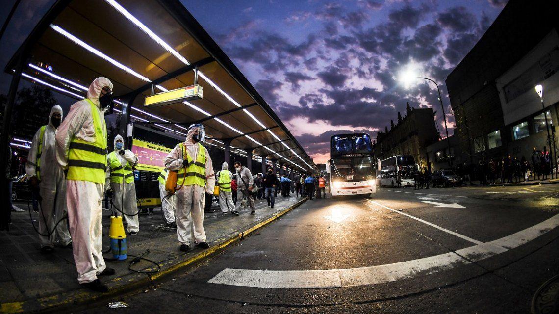 Coronavirus en Argentina: informe nocturno del 8 de agosto