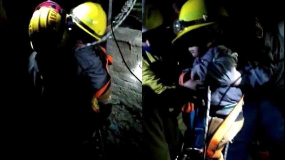 Córdoba: un nene de dos años cayó a un aljibe desde cinco metros