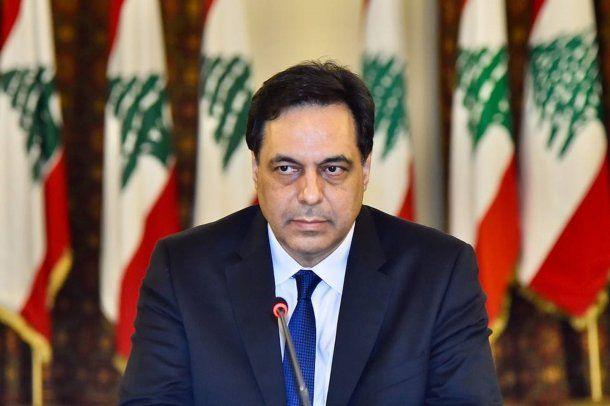 El primer ministro de Líbano,Hassane Diab, renunció tras las protestas