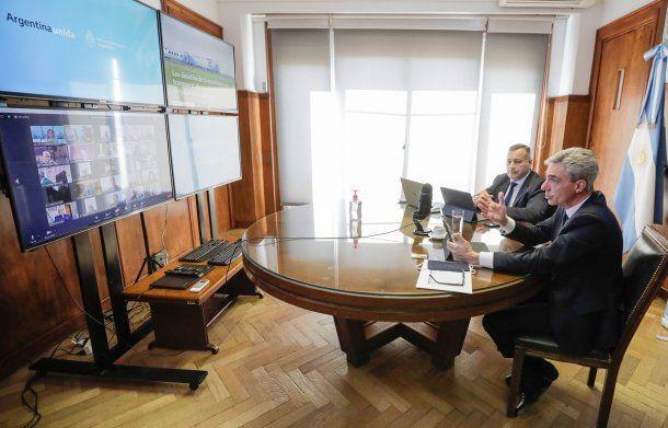 Mario Meoni, ministro de Transporte de la Nación