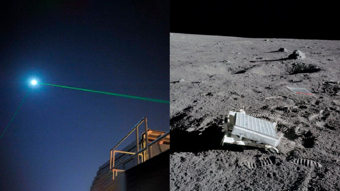 La NASA logró reflejar un láser en la Luna
