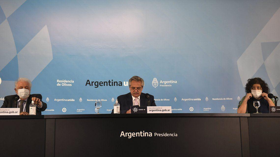 Alberto Fernández anunció que Argentina fabricará la vacuna contra el coronavirus para Latinoamérica
