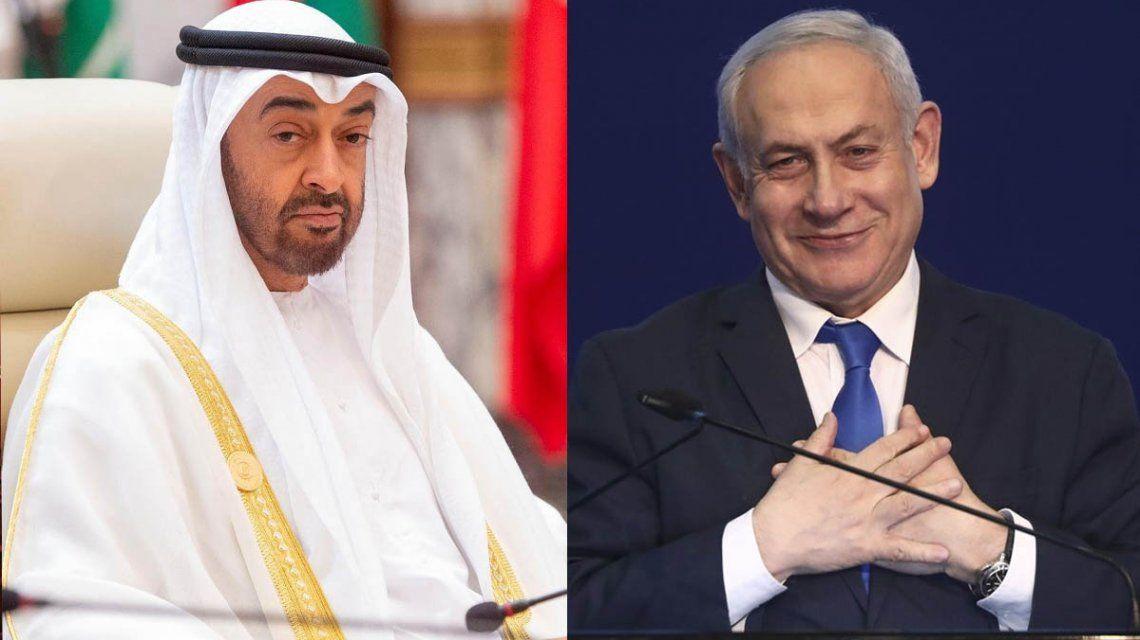 Israel y los Emiratos Árabes Unidos firmaron un acuerdo con la mediación de Donald Trump