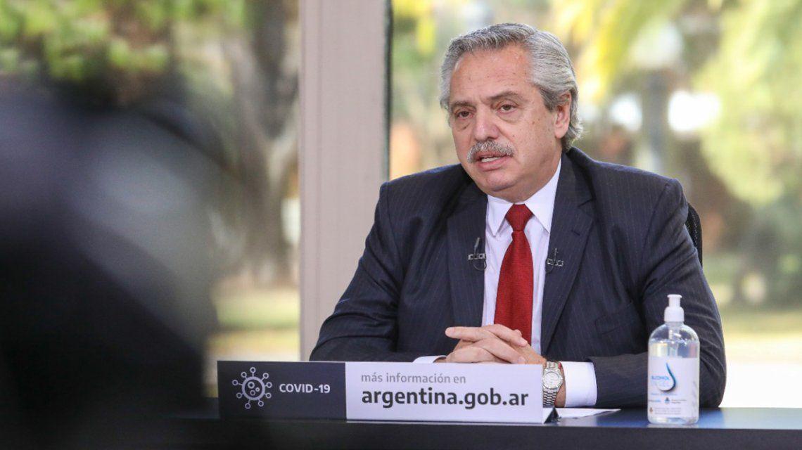 Alberto Fernández emitirá un mensaje sobre cómo seguirá el aislamiento social en el país