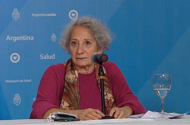 Graciela Jacob, médica paliativista que forma parte de la Red de Cuidados, Derechos y Decisiones.