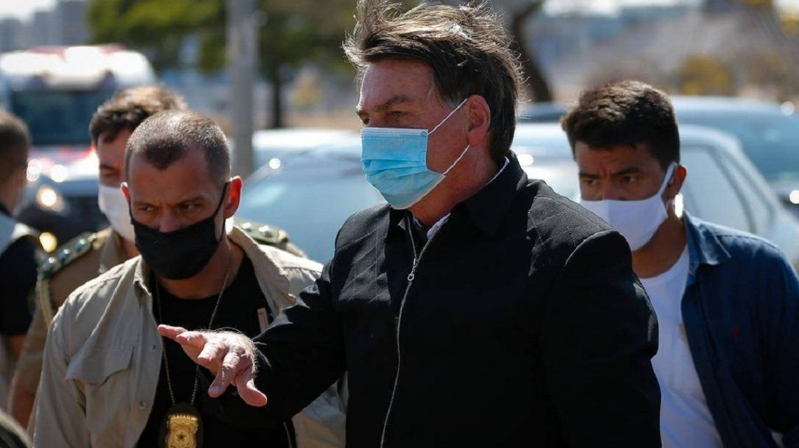 Bolsonaro amenazó a un periodista. Foto: O Globo.