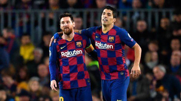 Messi se despidió de Luis Suarez con un sentido mensaje