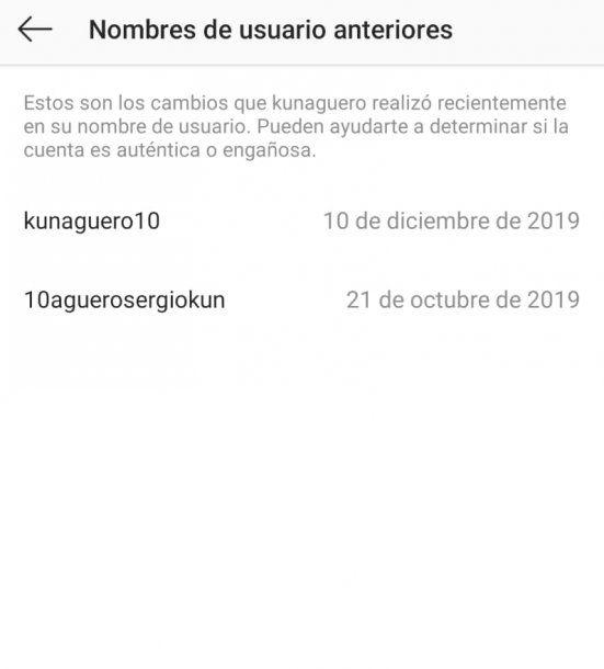 El Kun cambió su nombre de usuario en Instagram.