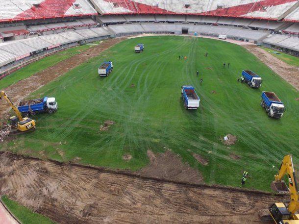 River no podrá usar el Monumental en el reinicio de la Copa Libertadores. Foto: Twitter oficial de River.