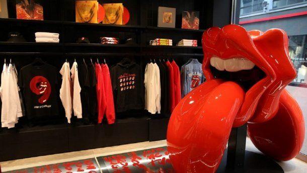 Los Rolling Stones tendrán su primera tienda.