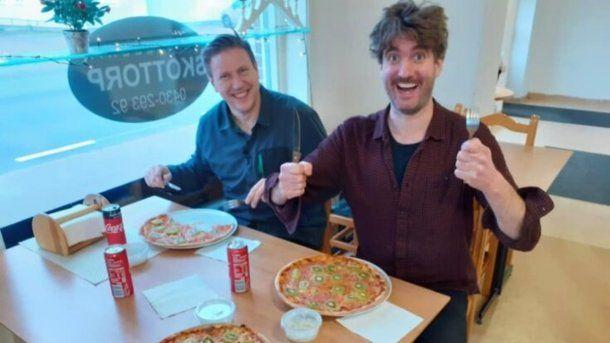Viral: un hombre en Suecia creó la pizza de kiwi y su mujer lo dejó
