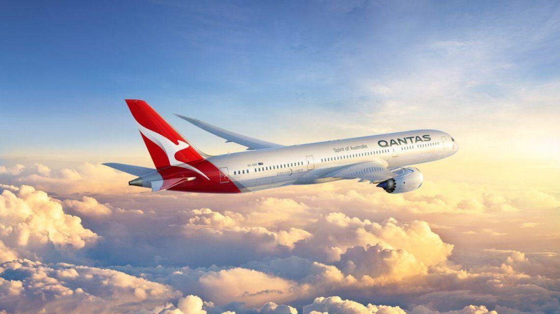 Qantas puso a la venta un vuelo panorámico para quienes extrañan viajar: se agotó en 10 minutos