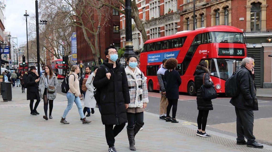 Reino Unido: registraron la crifra más altas de muertes diarias por Covid-19 en cinco meses