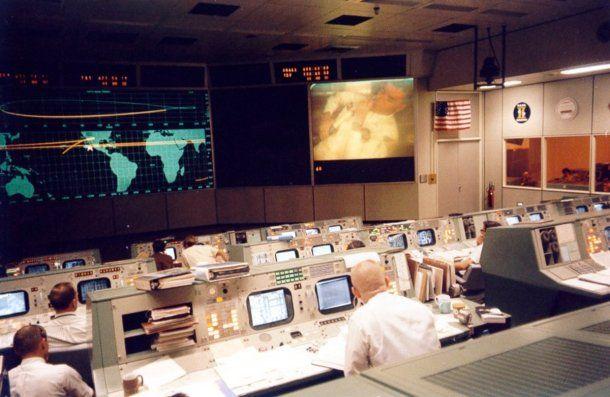El Centro Espacial Lyndon B. Johnson en Houston, Estados Unidos