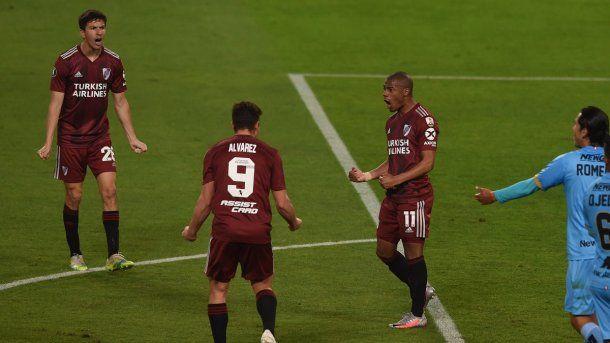 River empató con San Pablo y goleó a Binacional en las últimas fechas de la Copa Libertadores.