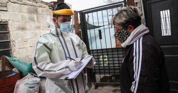 Santa Fe viene superando los 100 casos diarios. Foto: Rosario 3