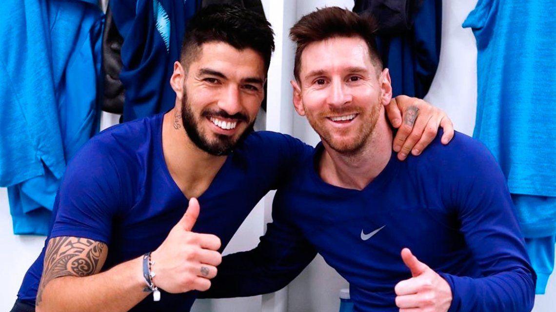 Explosivo mensaje de Messi contra la dirigencia del Barcelona en la despedida a Luis Suárez
