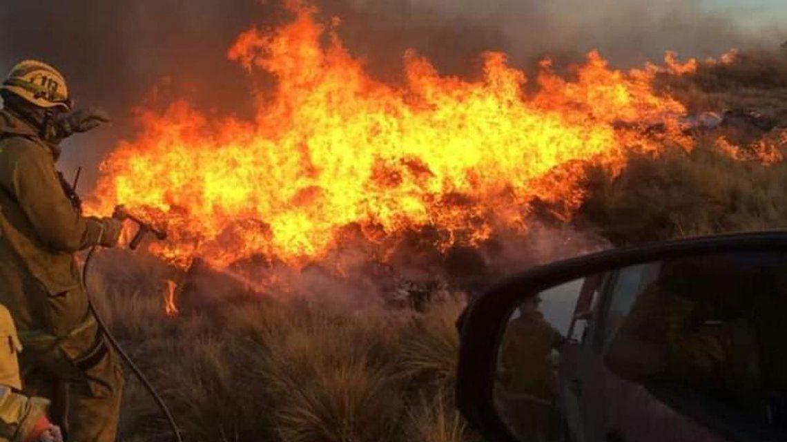 Nueva víctima de los incendios forestales en Córdoba