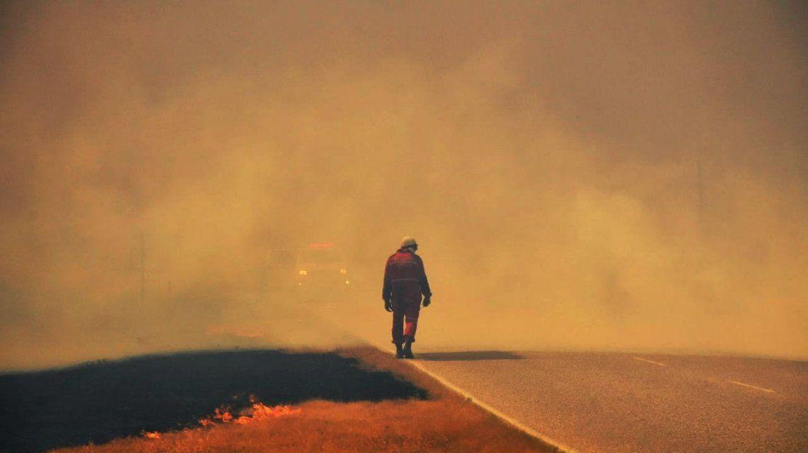 Hay incendios forestales en San Luis