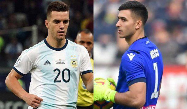 Giovani Lo Celso y Juan Musso se lesionaron y no jugarpan contra Ecuador.