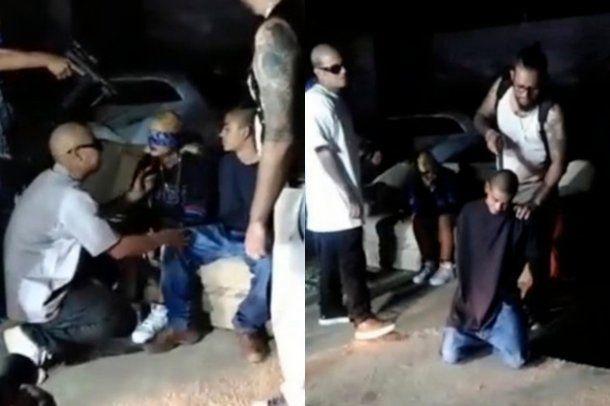 Los jóvens fingian un secuestro y mataron a su amiga. Foto: captura de pantalla.