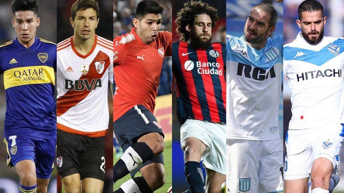 Las zonas de la Copa Liga Profesional 2020