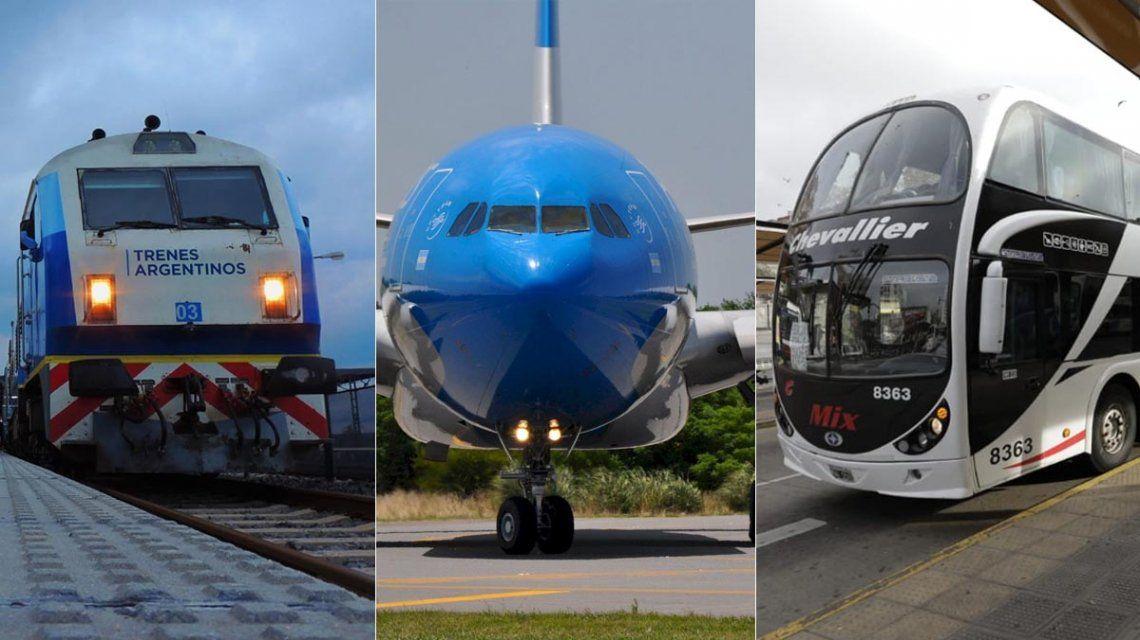 Cómo sacar el permiso para viajar en avión, tren o micro de larga distancia