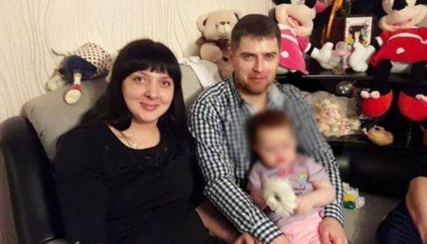 Petutina junto a su esposo y su hija Lisa. Foto: The Sun.