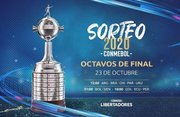 Copa Libertadores: la fecha y hora del sorteo fue confirmada por Conmebol