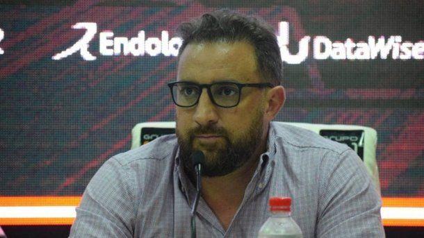 Cristian Malaspina, vicepresidente de la Liga Profesional de Fútbol, se manifestó en contra de que se jugue en el River Camp.