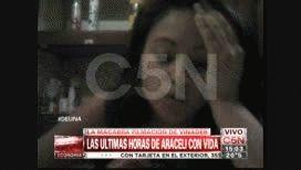 Asi fueron las últimas horas de Araceli Ramos con vida