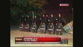 Intentaron tomar un predio en Villa Soldati, pero fueron rápidamente desalojados