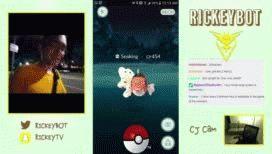 VIDEO: Jugaba al Pokémon Go