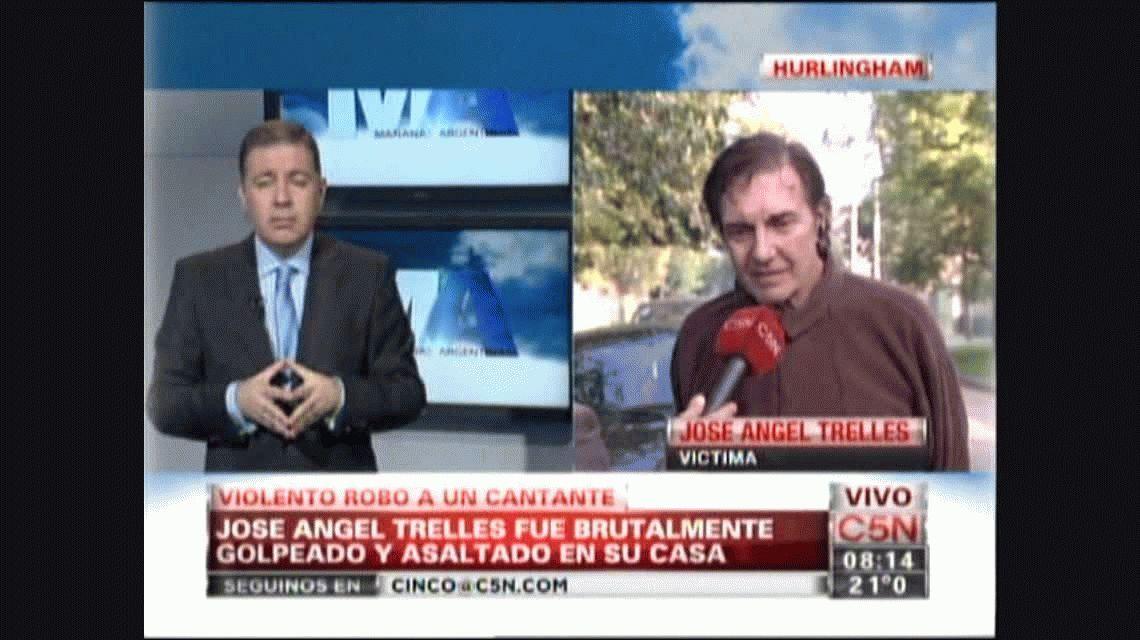 El dramático testimonio de José Ángel Trelles tras el robo