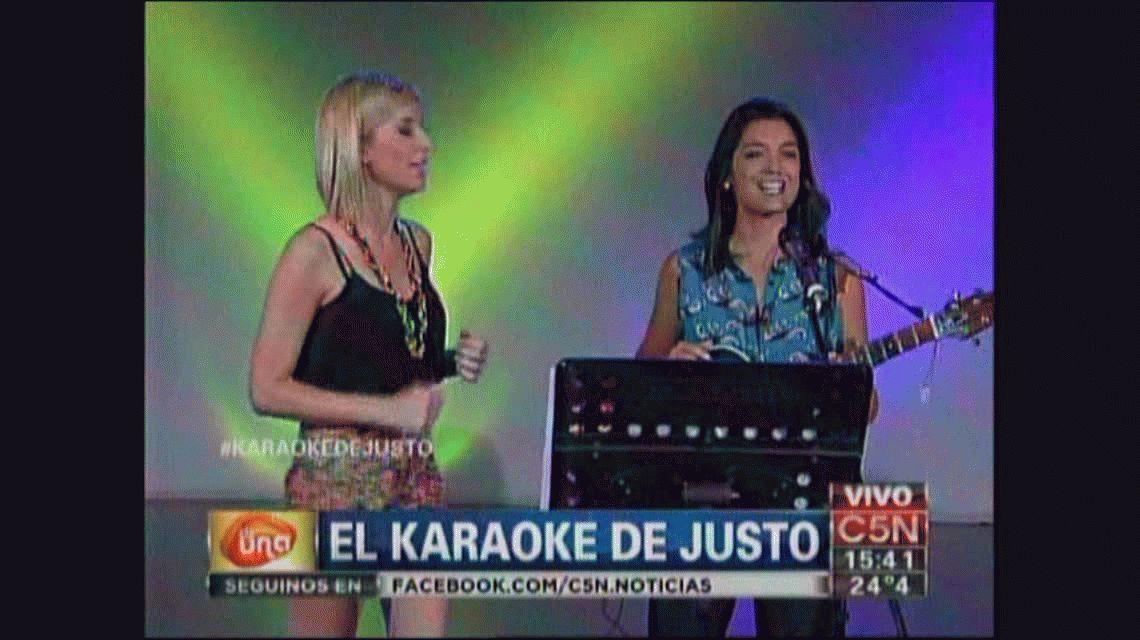 El karaoke de Justo Lamas, recargado por C5N
