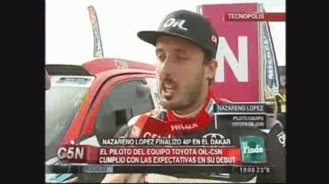 Nazareno López: Es una alegría terrible haber cumplido el objetivo
