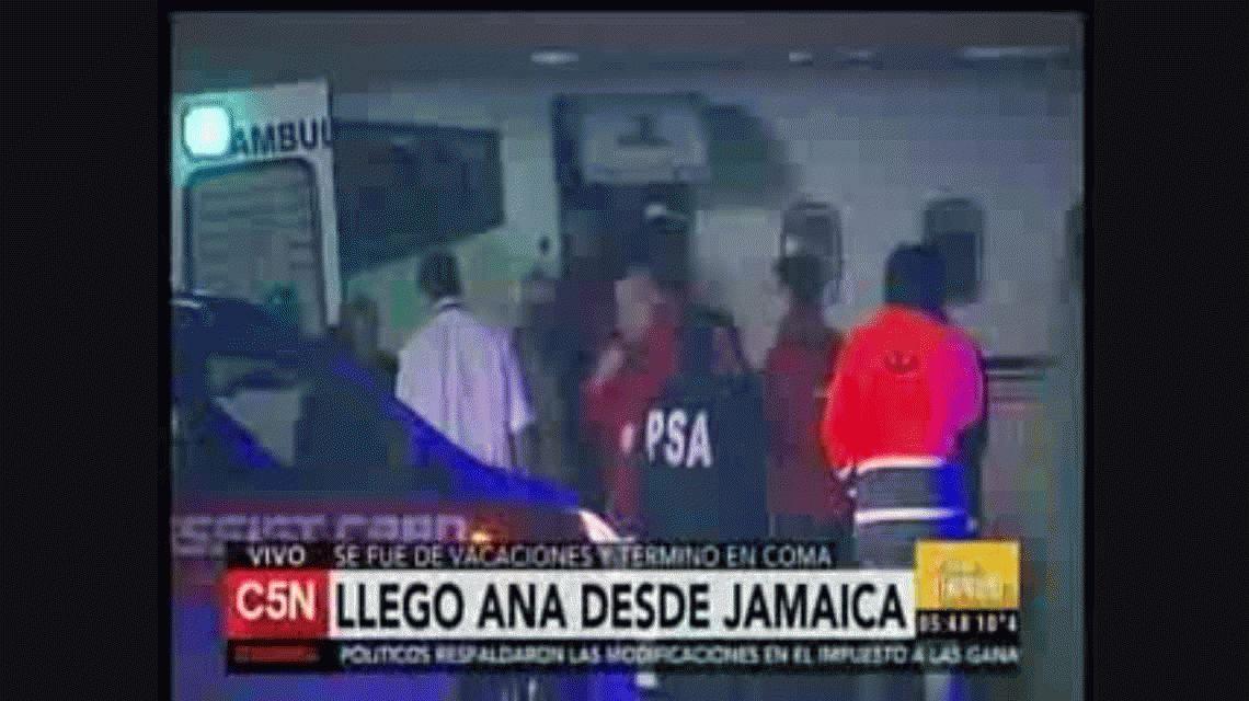 Habló el marido de la turista argentina internada en Jamaica: La bajaron por la fuerza
