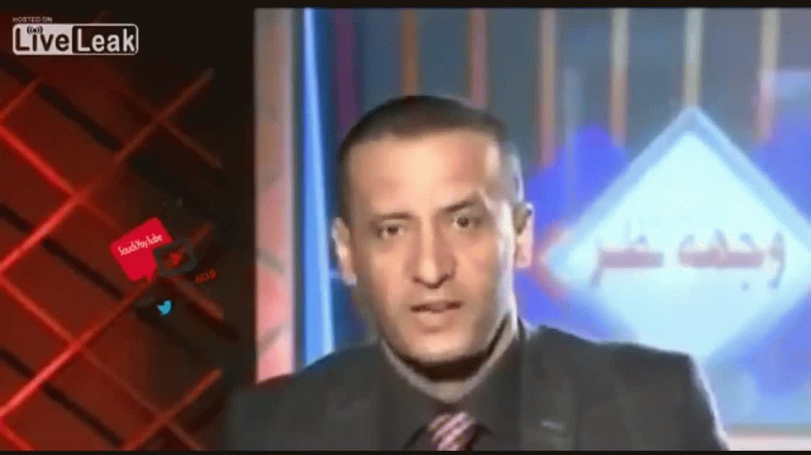 VIDEO: así bombardearon un canal de televisión en Yemen