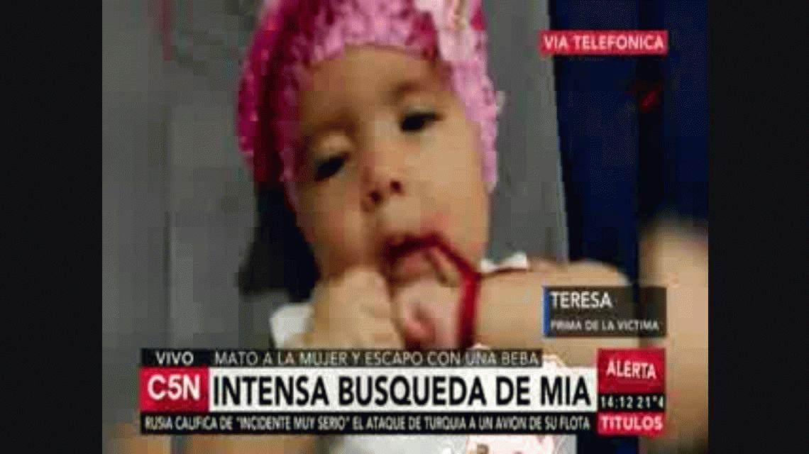 Interpol encontró con vida a Mía: estaba en Paraguay