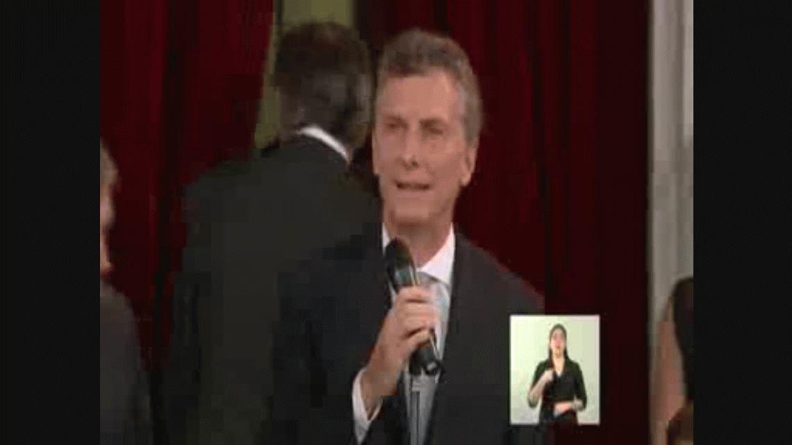 VIDEO: Así juró Mauricio Macri