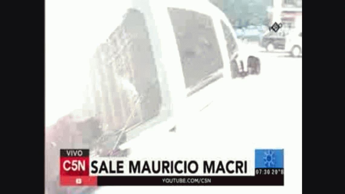 Macri arrancó bien temprano con la agenda en su primer día de gestión