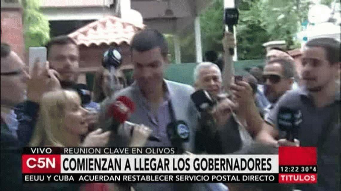 Urtubey antes de la reunión con Macri: Lo más importante no es quién maneja la plata