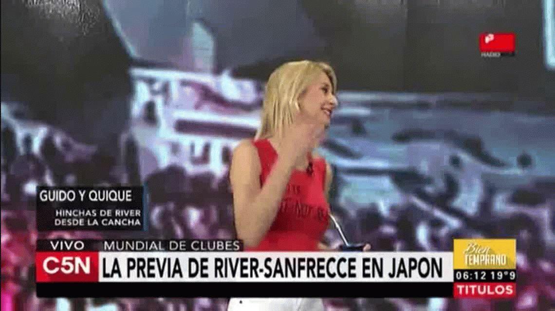 Así viven la previa del partido ante Sanfrecce los hinchas de River en Japón