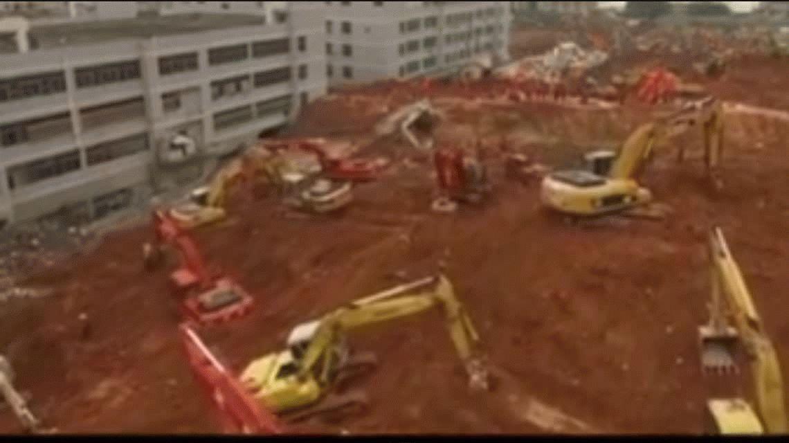 Milagro en el alud de China: sobrevive 67 horas enterrado entre los escombros