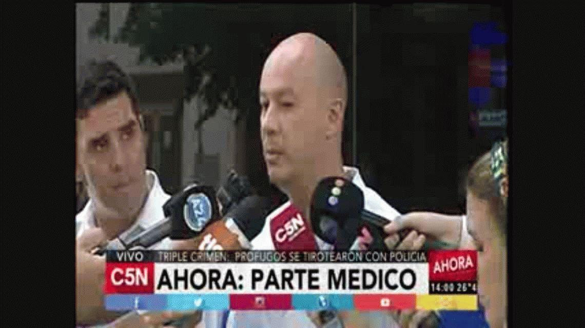 Parte médico: El policía continúa en estado grave; con muchos órganos comprometidos