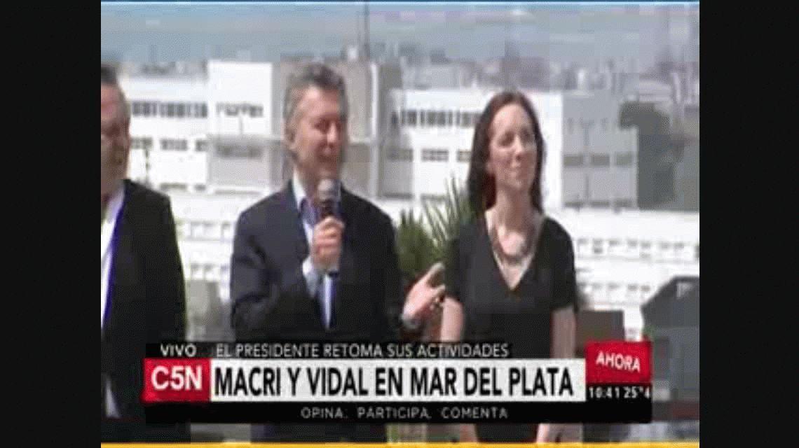 Macri: No vamos a mirar para el costado y vamos a enfrentar al narcotráfico