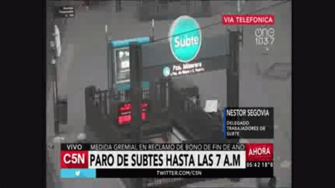Metrodelegados aseguran que tomarán medidas que no perjudiquen a los pasajeros