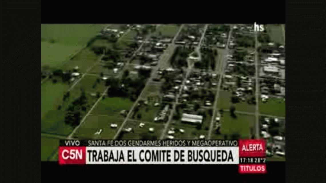 Así es el megaoperativo en zonas rurales de Santa Fe para atrapar a los prófugos