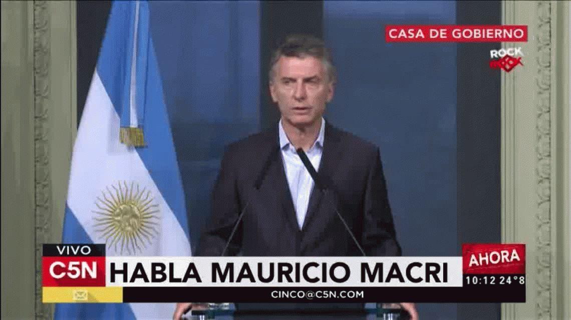 Macri sobre el despido de Víctor Hugo Morales: No tenemos nada que ver